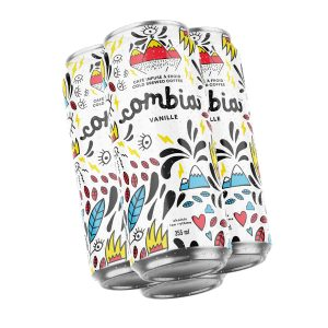 Café Infusé à froid Combia Vanille 12 cannettes